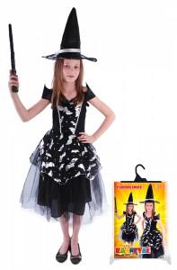 Dětský kostým Netopýrka Čarodějnice/Halloween (S)
