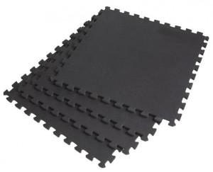 TATAMI-TAEKWONDO SEDCO BLACK 100x100x2cm LOCK