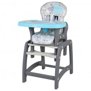 Jídelní židlička Baby Mix 2v1 Blue