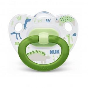 Šidítko NUK Happy Days 6-18 m zelený BOX