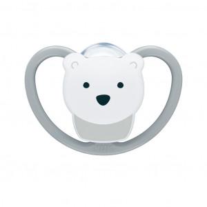 Šidítko Space NUK 0-6m lední medvěd BOX