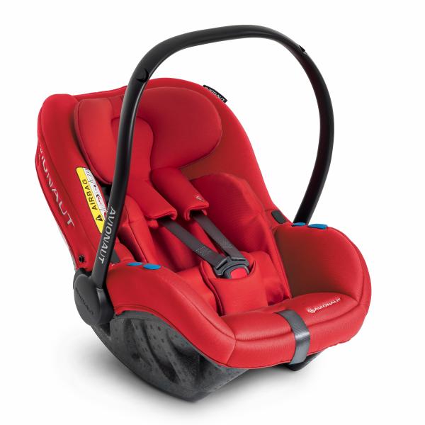 Autosedačka PIXEL (45-86cm, 0-13kg) 2020 červená
