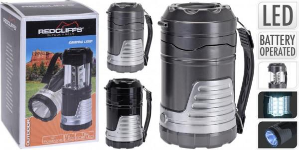 Kempingová lampa RedCliffs - 2 Funkce - 104x185 mm