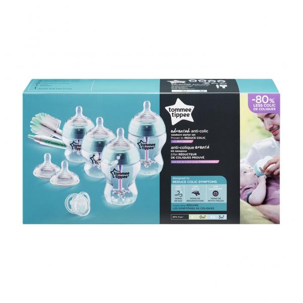 Sada kojeneckých lahviček C2N ANTI-COLIC s kartáčem