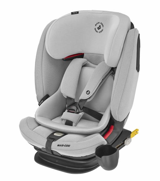 Titan Pro autosedačka Authentic Grey