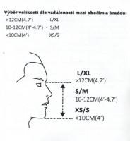 Potápěcí celoobličejová maska SPARTAN F-2