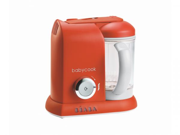 Parní vařič + mixér BABYCOOK paprika