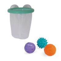 Janod hračka do vody basketbalový kôš s loptičkami 3 ks