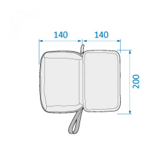 Přebalovací taška Modern Bag Essential Graphite