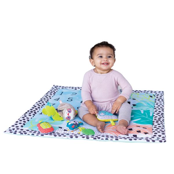 Hrací deka s hrazdou a vankúšikom 4v1 Twist & Fold