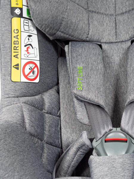 Autosedačka AEROFIX (67-105cm) 2020 šedá