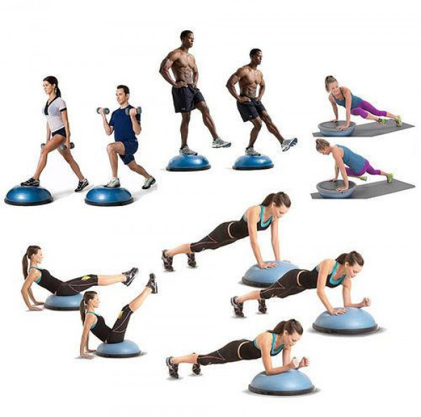 Balanční podložka Sedco Balance Trainer s držadly 58 cm