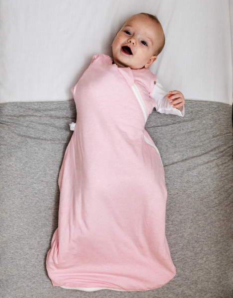 Zavinovačka Grobag Snuggle 0-4m letní Pink Marl