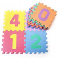 Dětská hrací podložka s čísly Sedco 30x30x1,0 cm - 10ks