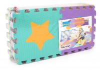 Dětská hrací podložka s čísly Sedco 30x30x1,2 cm - 12ks