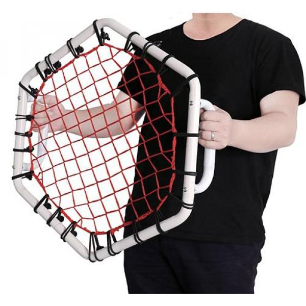 Příruční odrážedlo na míče Pure2Improve HEX HAND REBOUNDER - 58x58 cm