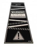 Podložka/koberec na šipky XQ MAX DARTMAT Warning