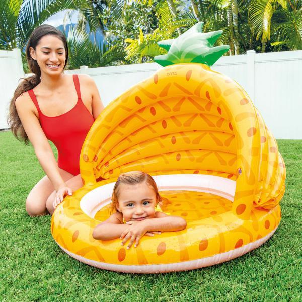 Nafukovací bazén INTEX 58414 Ananas 102x94 cm