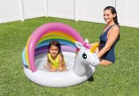 Nafukovací bazén INTEX 57113 Jednorožec 127x102x69 cm