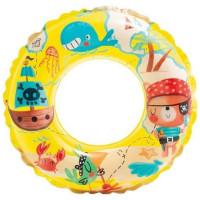 Kruh plavecký INTEX 59242 TRANSPARENT 61cm