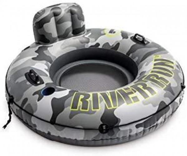 Kruh plavecký river DIA 135 cm Intex 56835 camo