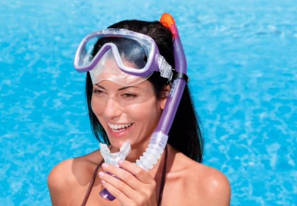 Šnorchl Intex 55928 FREE-FLO s ventilkem v.2