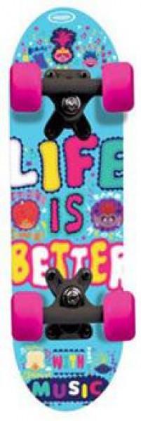 Dětský Skateboard - Mini board Trolls 17''