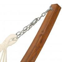 Houpací síť Sedco s dřevěným rámem