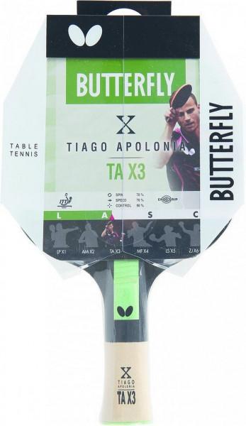 Pálka na stolní tenis BUTTERFLY - Tiago Apolonia TAX3