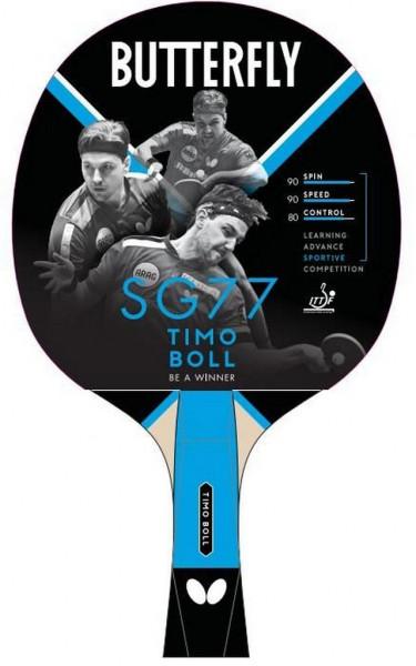 Pálka na stolní tenis BUTTERFLY - Timo Boll SG77