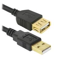 Defender Professional AM-AF, USB 2.0, 1,8m Prodlužovací kabel (87429)