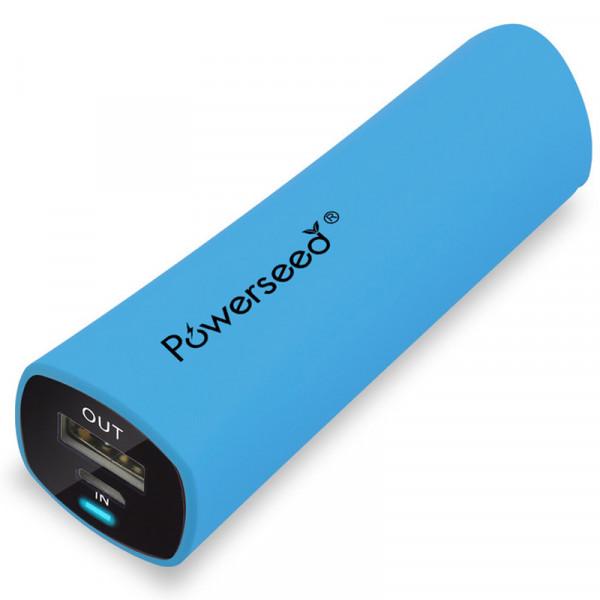 Powerseed PS-2400E (blue) mAh Power bank PS-2400BL