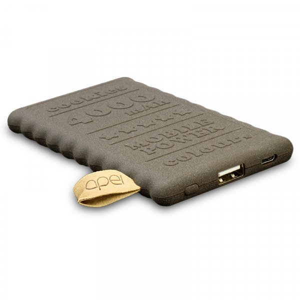 Apei Cookie 4000 mAh Power Bank, hnědá (14123)