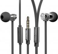 REMAX RM-565i Black, Earphone  + 3% sleva pro registrované zákazníky