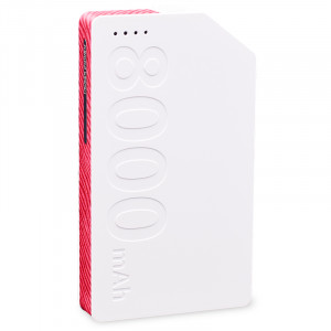 REMAX Platinum series 8000 mAh (white-red) R9039