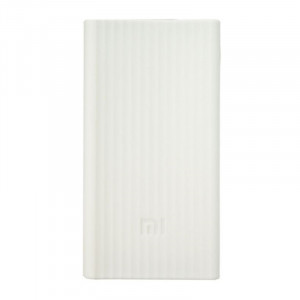 Xiaomi silikonové pouzdro pro 20000 mAh white X1020