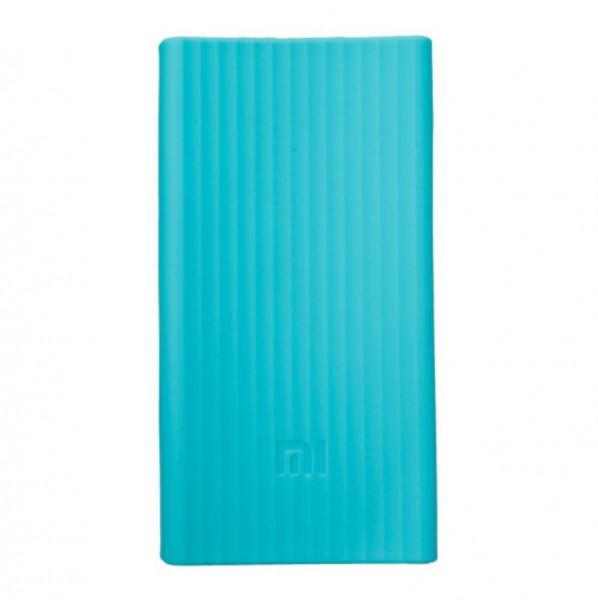 Xiaomi silikonové pouzdro pro 20000 mAh blue X1018