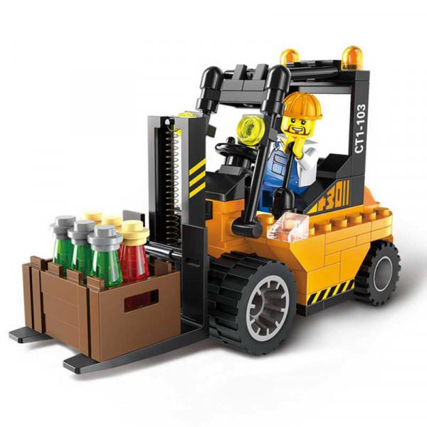 Enlighten Brick 1103 Vysokozdvižný Vozík 115 dílů
