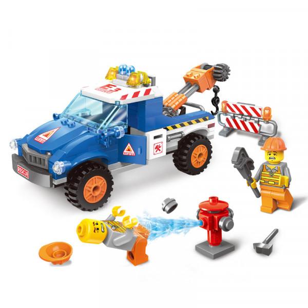 Enlighten Brick 1109 Pohotovostní Vozidlo 207 dílů