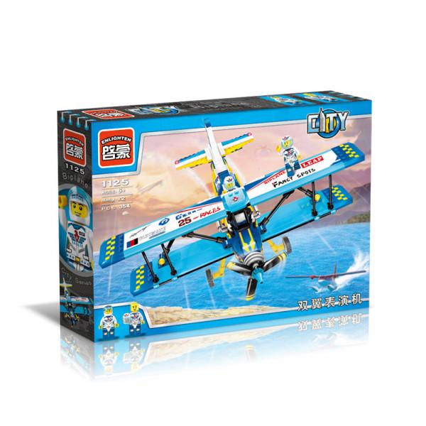 Enlighten Brick 1125 Kaskadérské Letadlo 354 dílů