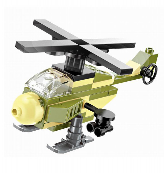 Enlighten Brick 1223 Mini Vrtulník 47 dílů