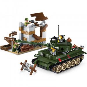 Enlighten Brick 1711 Tanková Bitva 380 dílů