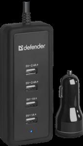 Defender ACA-02, Auto nabíječka, 5 vystupy
