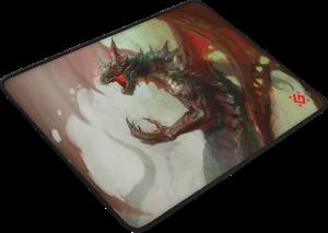 Defender Dragon Rage M 360x270x3 mm, Herní podložka pod myš