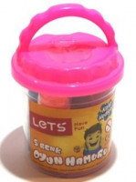 LETS Plastelína , Malý kyblík 5 barev+doplňky