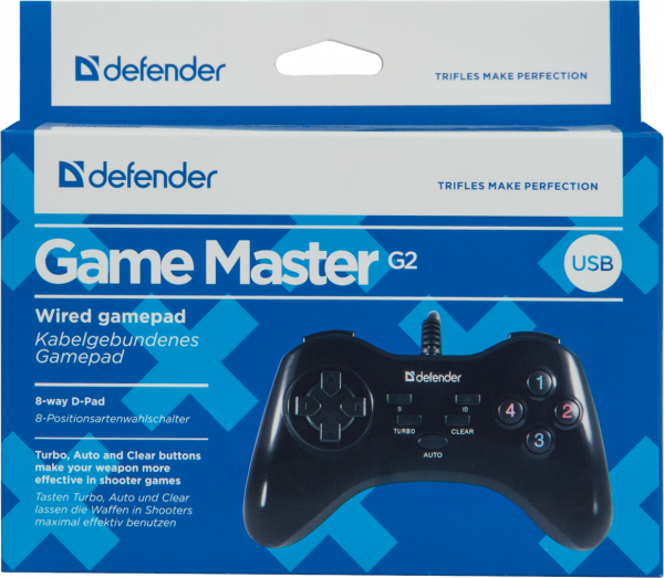Defender Game Master, Gamepad