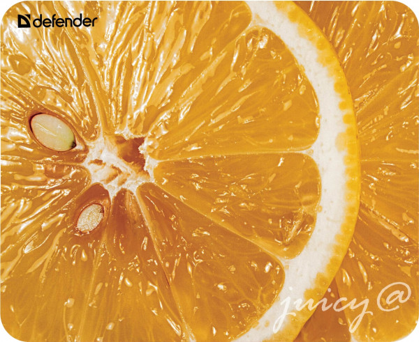 Defender Juicy Pomeranč, Podložka pod myš