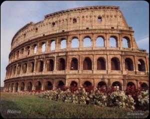 Defender Journey Rome, Podložka pod myš