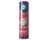 Míček badmintonový peří bílé - TUBA6
