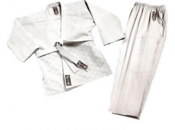 Sedco Kimono JUDO 130 + pásek (bílé)